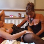 3 mature wives have a threesome