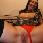 Soldier girl & Mum Tracey having anal fun