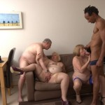 Speedy and Lexi in afternoon foursome orgy