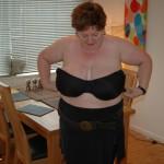 BBW slut in black tights